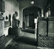 Stone monuments in the Roman Department of the Wallraf-Richartz Museum